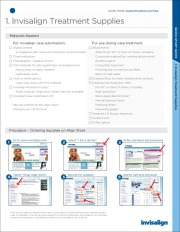 New Invisalign - Quick Start Guide for Cosmetic Dental Braces page 1